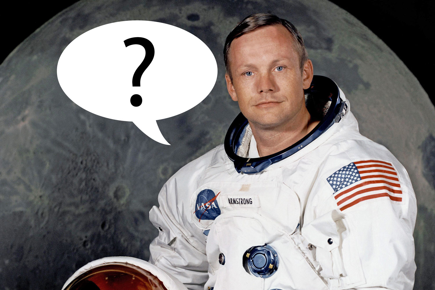 Did we mishear Neil Armstrong's famous first words on the Moon?