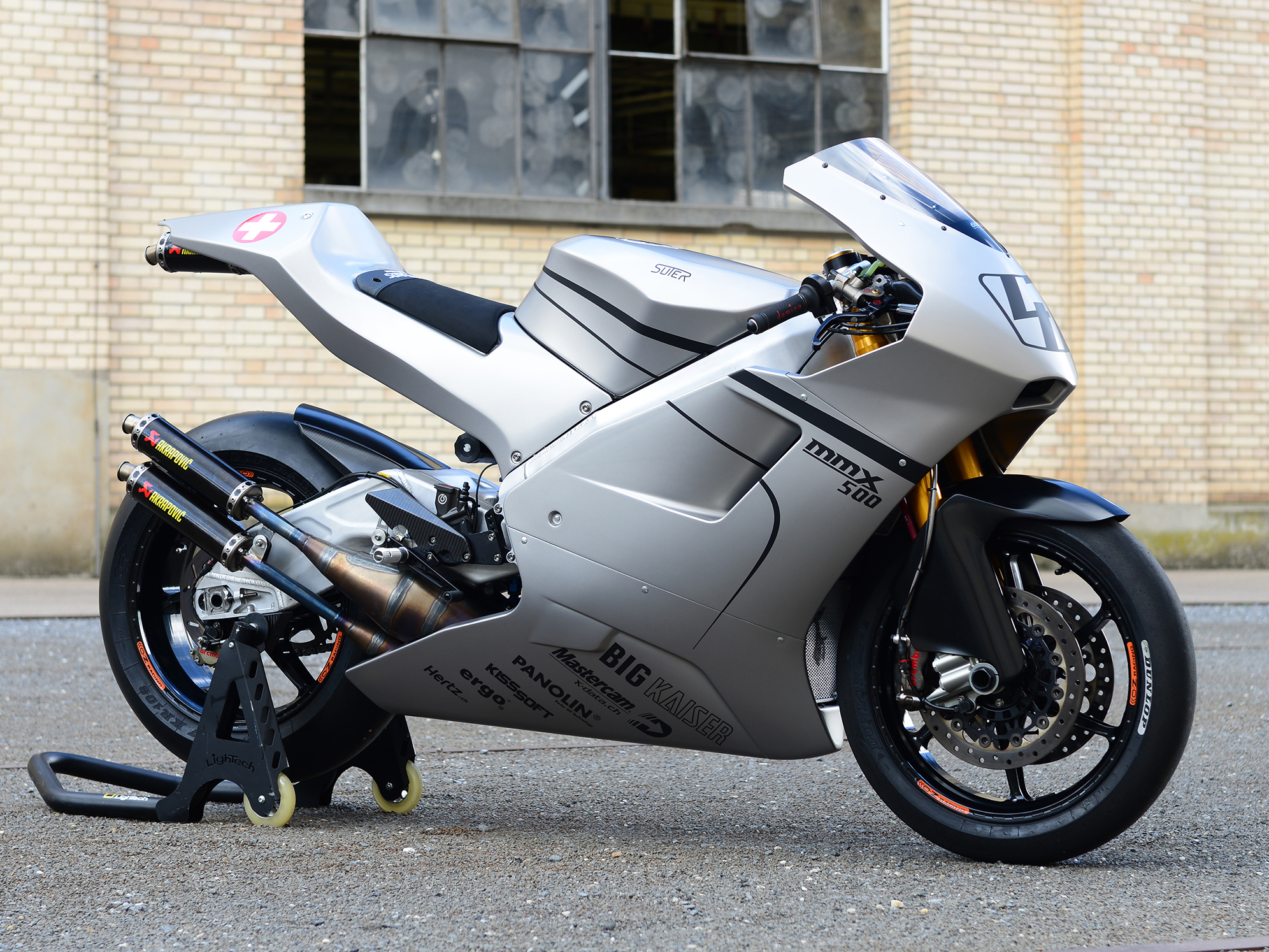 You too can have a real 576cc V4 two-stroke or Moto2