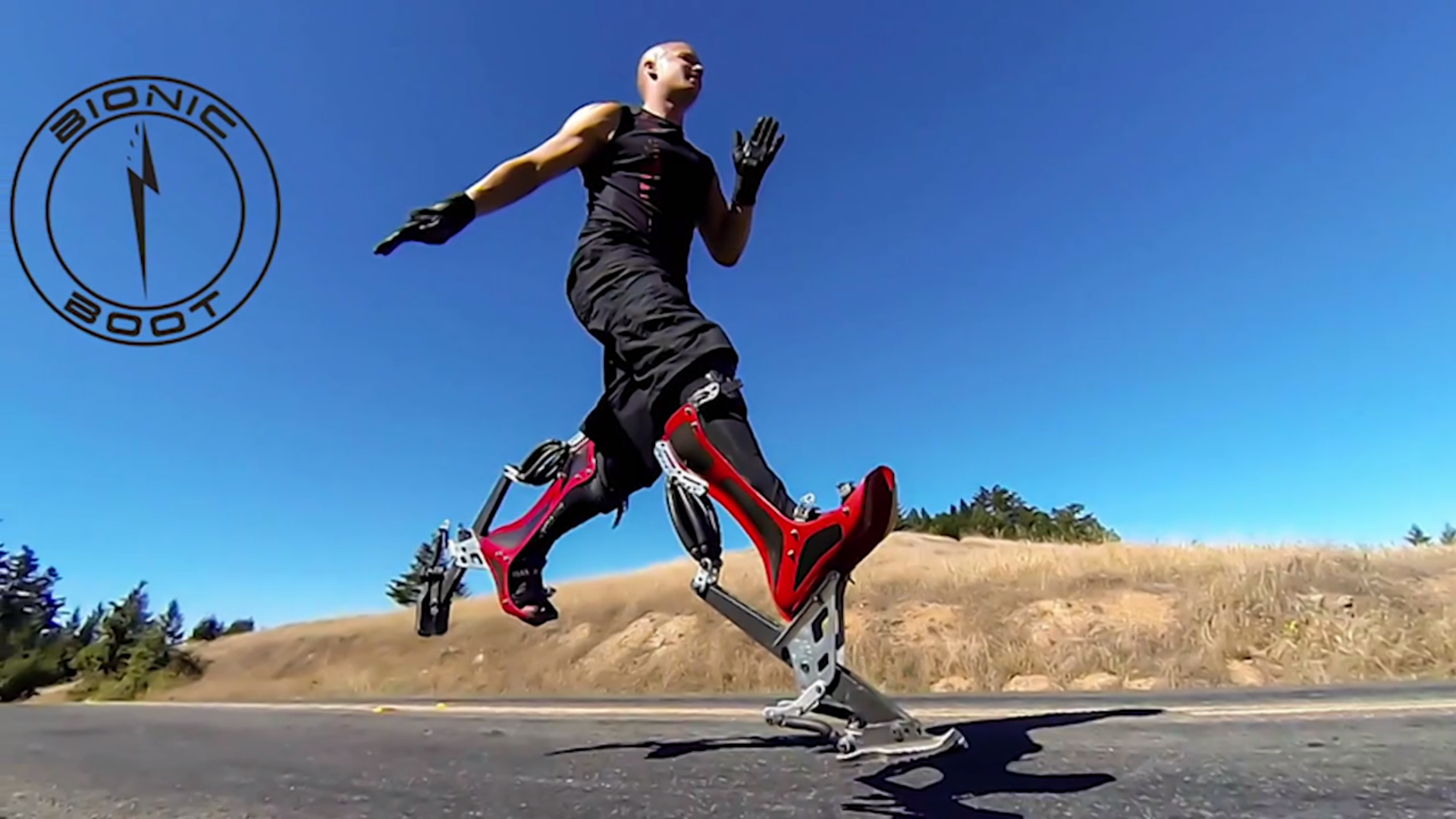 Video Bionic Boots That Let You Run Up To 25 MPH