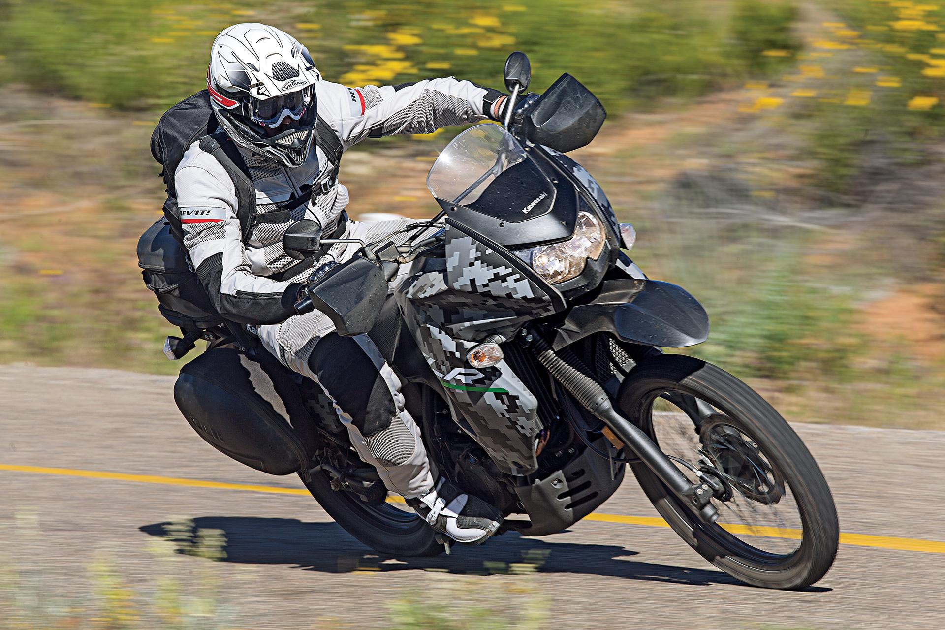 Kawasaki KLR650 Adventure Motorcycle Road Trip and Killer Tacos