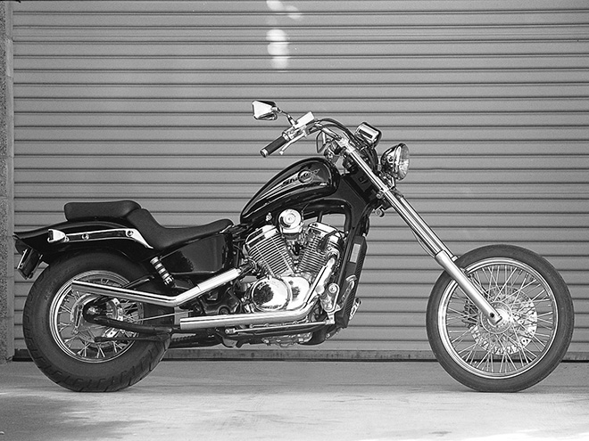 Denny Berg Vamps Up A 1999 Honda Shadow VLX | Motorcycle Cruiser
