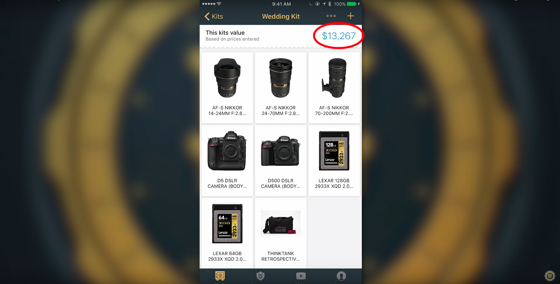 MyGearVault App Is Designed to Keep Your Camera Equipment Organized