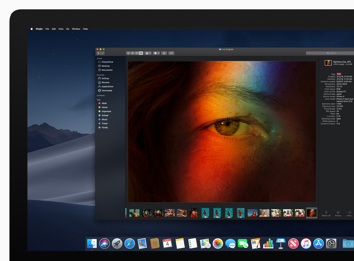 Dark mode is easier on your eyes—and battery