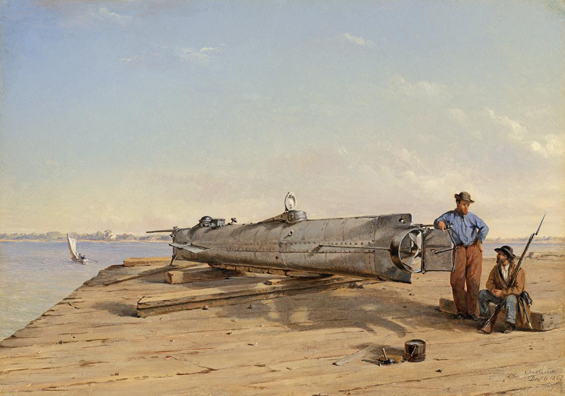 The mystery of a spooky Confederate submarine might finally be solved