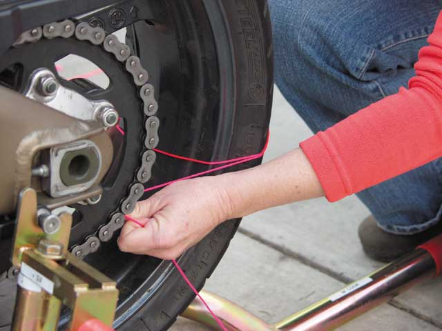 Learn Simple Motorcycle Wheel Alignment | Motorcyclist
