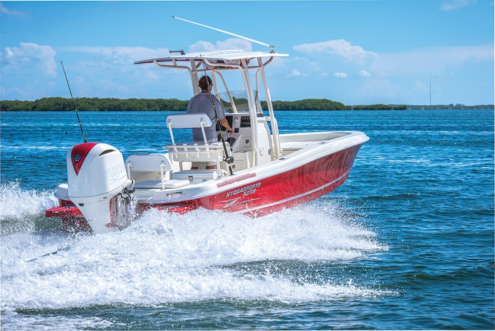 Center Console Bay Boats that Float Shallow | Sport Fishing