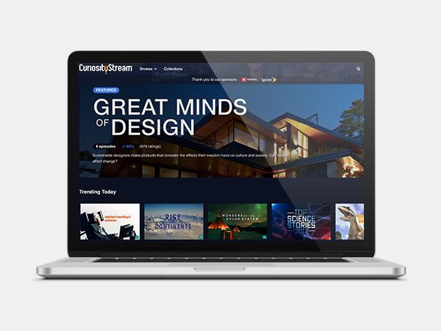 You can binge documentaries around the clock with CuriosityStream