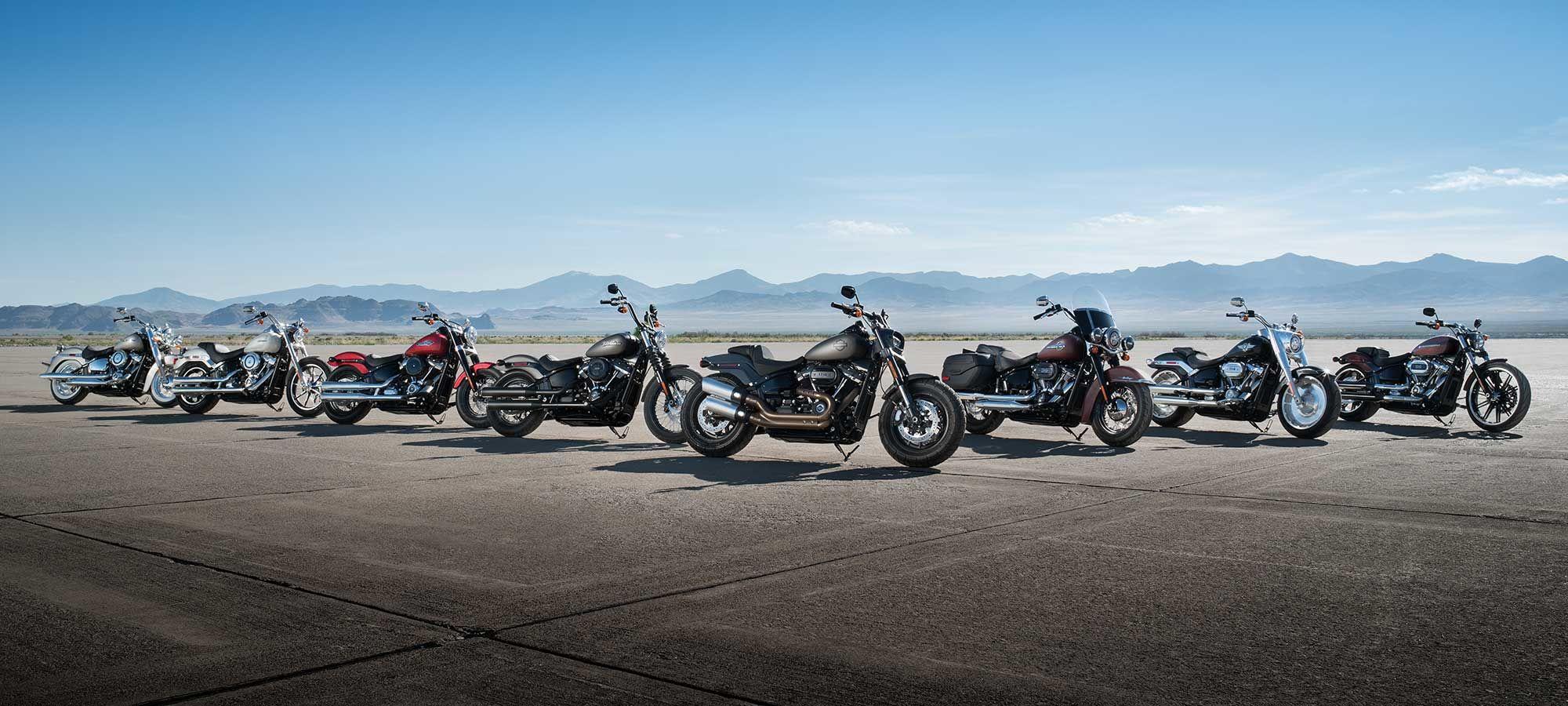 Harley-Davidson's New 2018 Softails Offer Huge Improvements