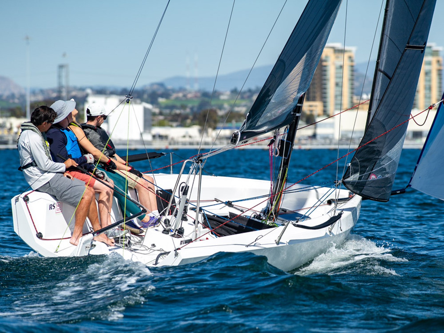 Solo Practicing Sailing World