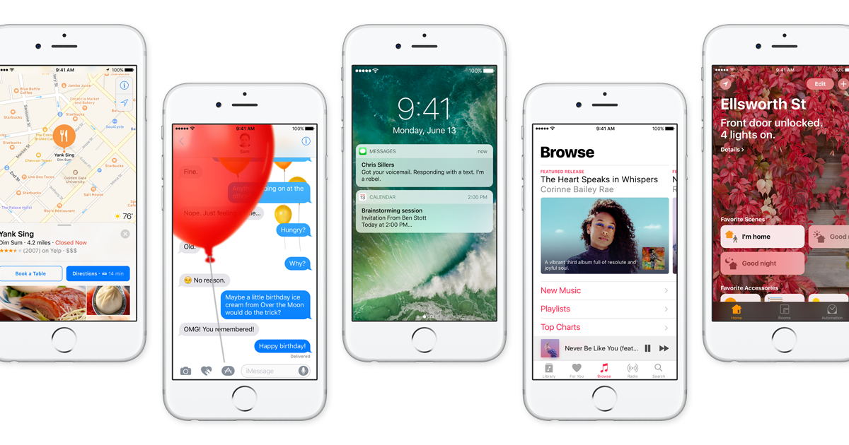 iOS 10's Best New Features: Here's How To Use Them