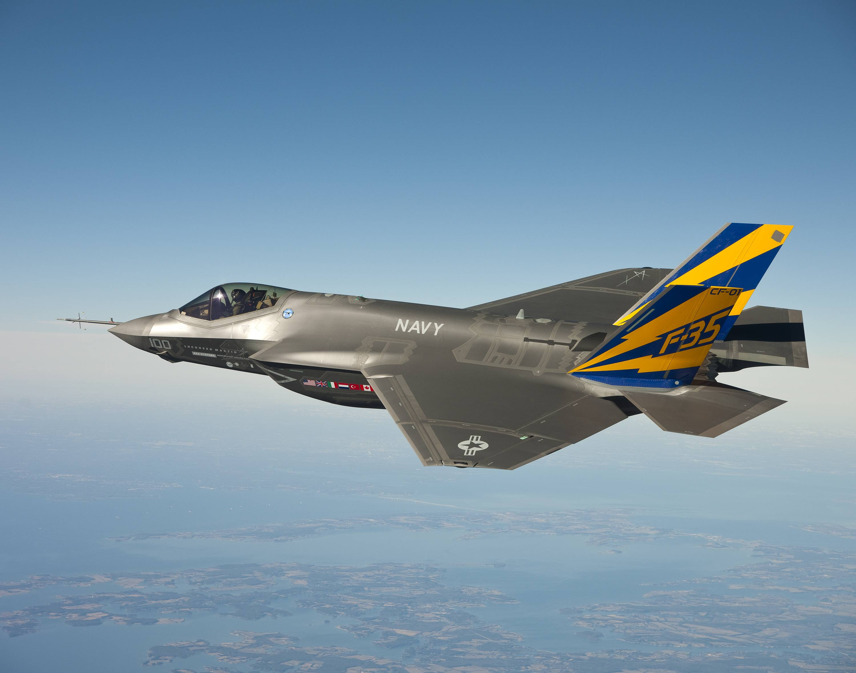F-35 Fighter Jets To Get Mysterious New 'Cyberpod' Cyberweapon
