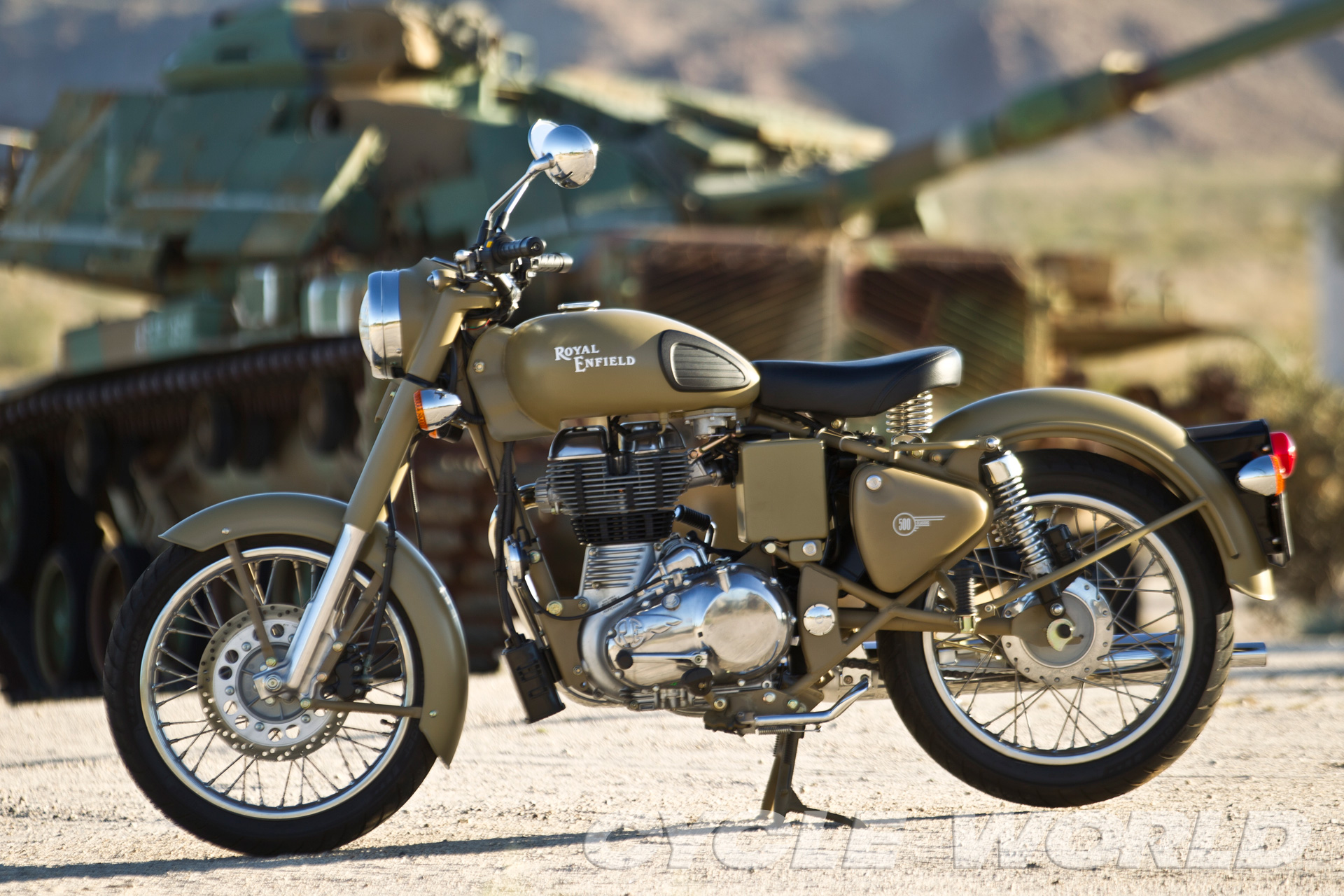 Royal Enfield Classic 500 Ten Bikes With Soul And Character Cw