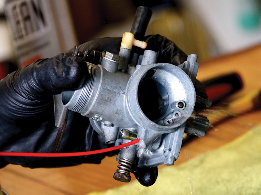 CARB CLEANING TIPS | Motorcyclist