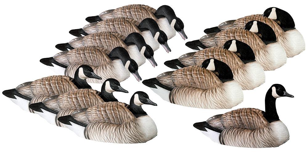 4 Ultra-Lightweight Goose Decoys for Building an Ultra