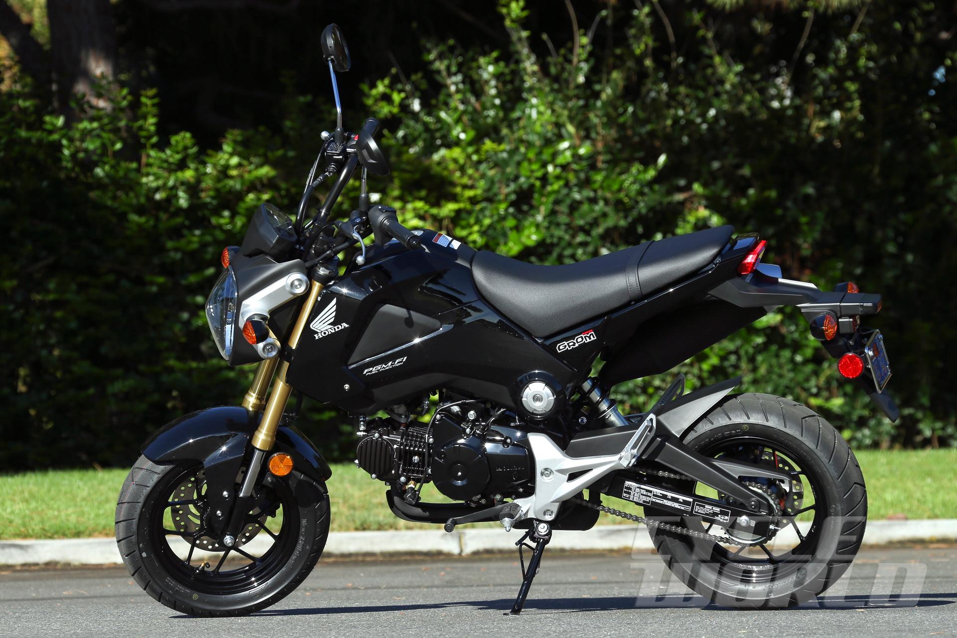 Honda Grom Bike Review- Photos- Specifications- Dyno Run