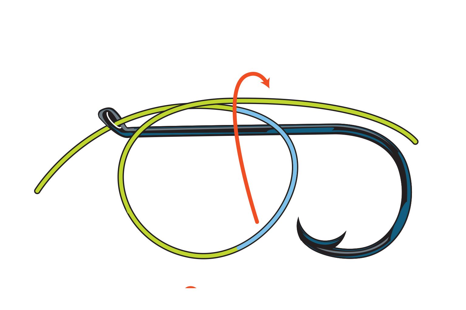 Snelling A Hook How To Tie A Snell Knot Sport Fishing Magazine
