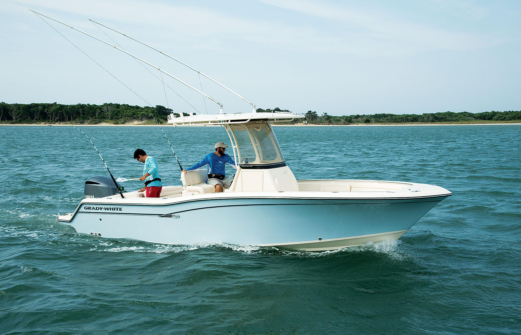 Grady-White Fisherman 236 Center Console First Glance