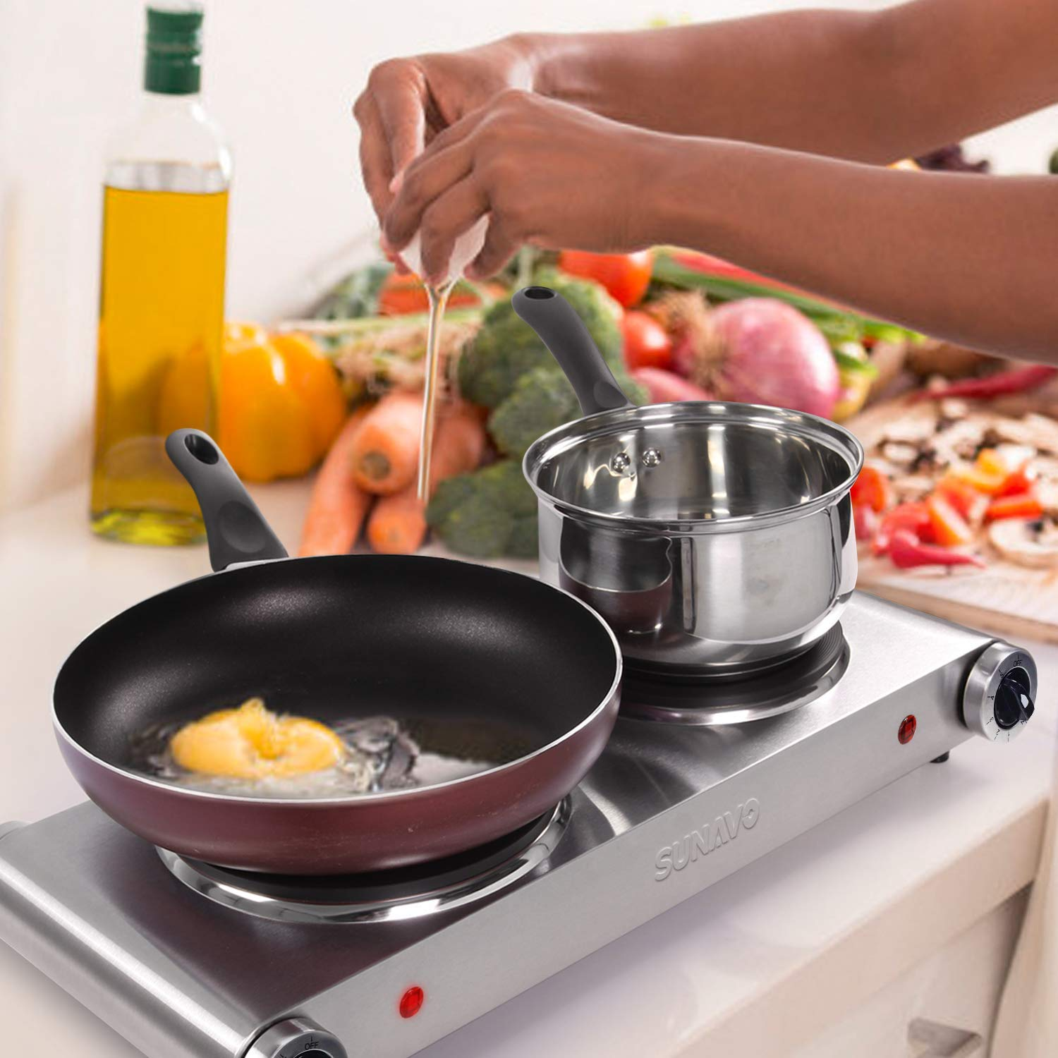 Hot plate cooktops for small spaces