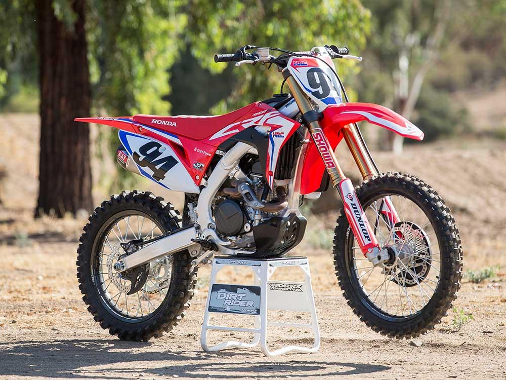 2019 Honda CRF450RWE First Ride Review   Dirt Rider