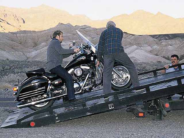 2001 Kawasaki 1500 Nomad & Turbo Nomad Motorcycles Tested in