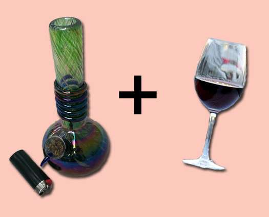 What Happens To Your Body When You Get Drunk And Stoned At The Same Time?