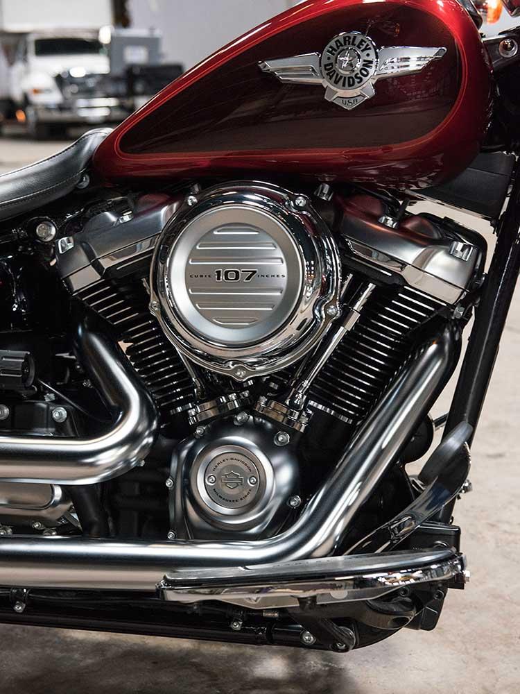 2018 Harley-Davidson Softail Cruisers Tech and Development