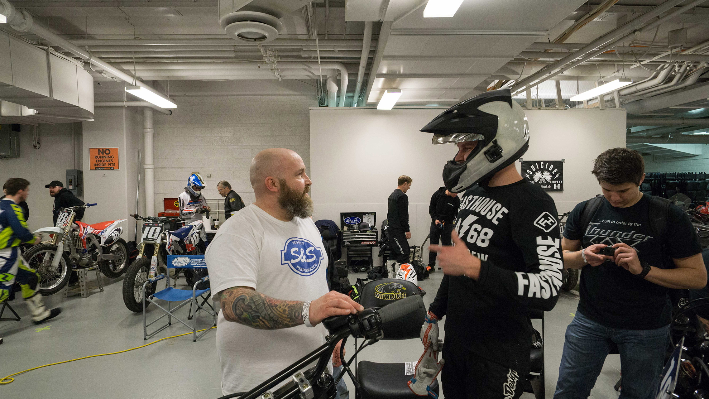 Hooligan Racing on S&S Cycle's H-D Sportsters | Cycle World