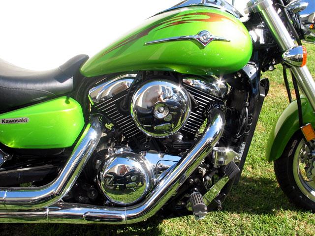 Seeing Double Kawasaki Mean Streak And Suzuki Marauder 1600