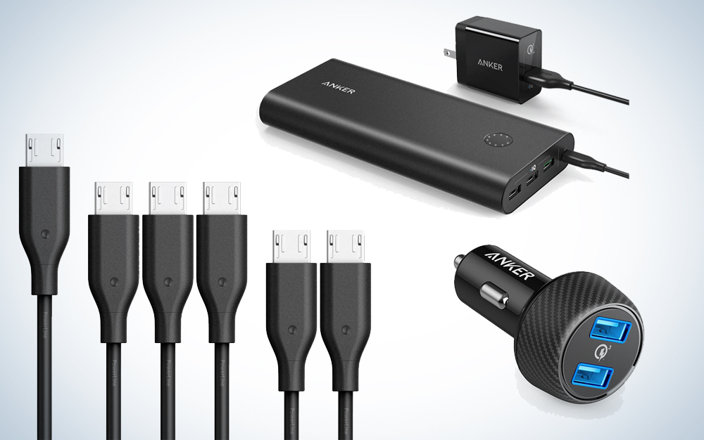Up to 42 percent of Anker charging accessories and other great deals happening today