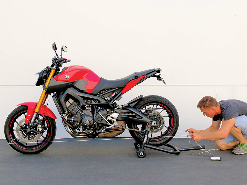 How To Check Front and Rear Motorcycle Wheel Alignment