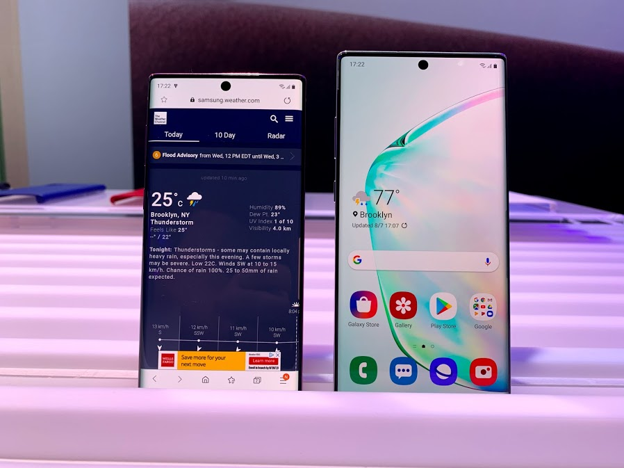 A closer look at Samsung's new gadgets, including the Note 10 smartphone and Galaxy Book S