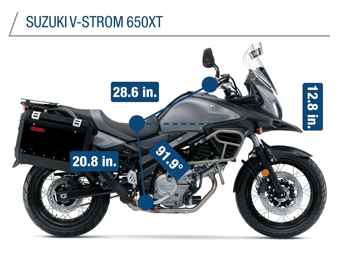 Adventure Touring Comparison Kawasaki Versys 650 Lt Vs Suzuki V