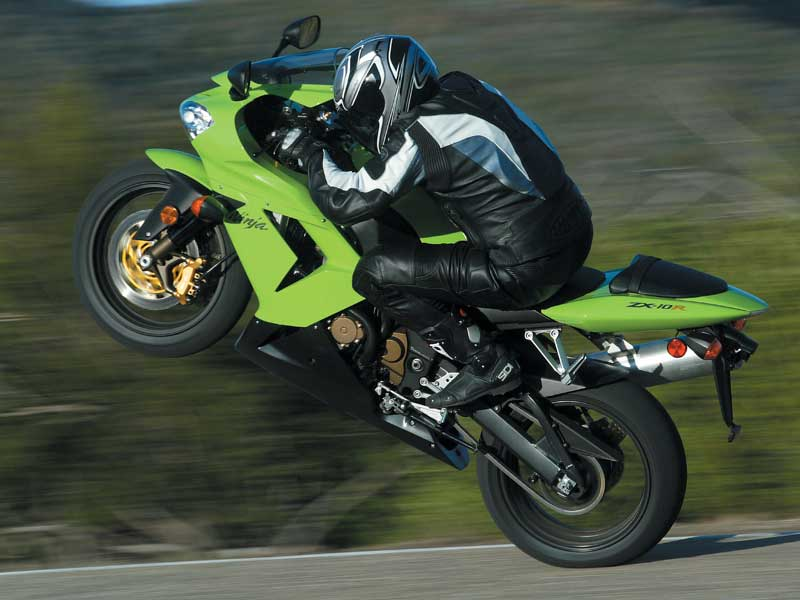 2004 Kawasaki Zx 10r Ninja Road Test Review Motorcyclist