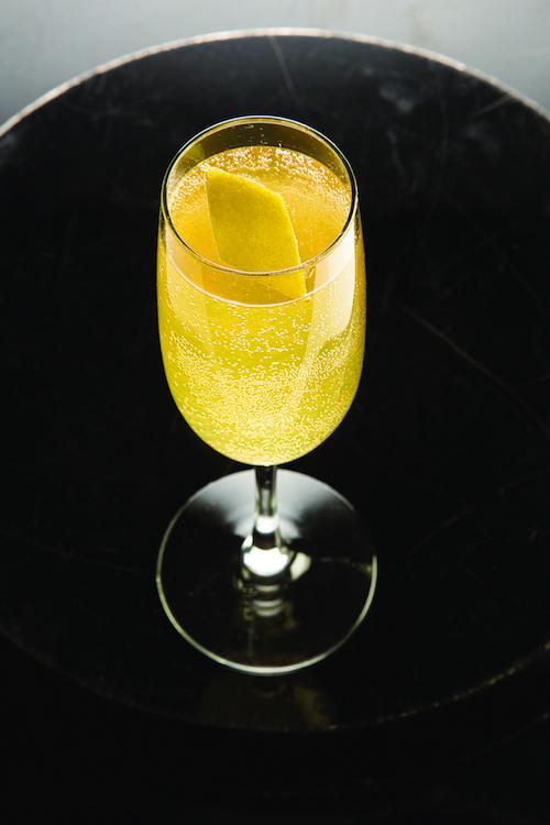 Arnaud's French 75 (Cognac, Champagne, Lemon Cocktail