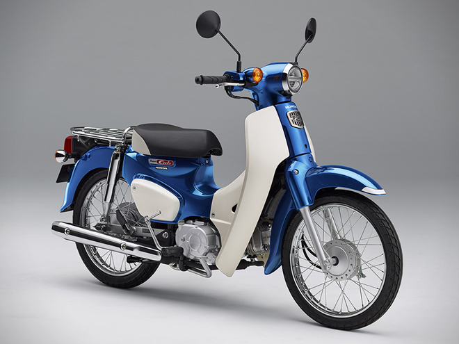 the honda super cub is updated for 2018 and cuter than ever | cycle world