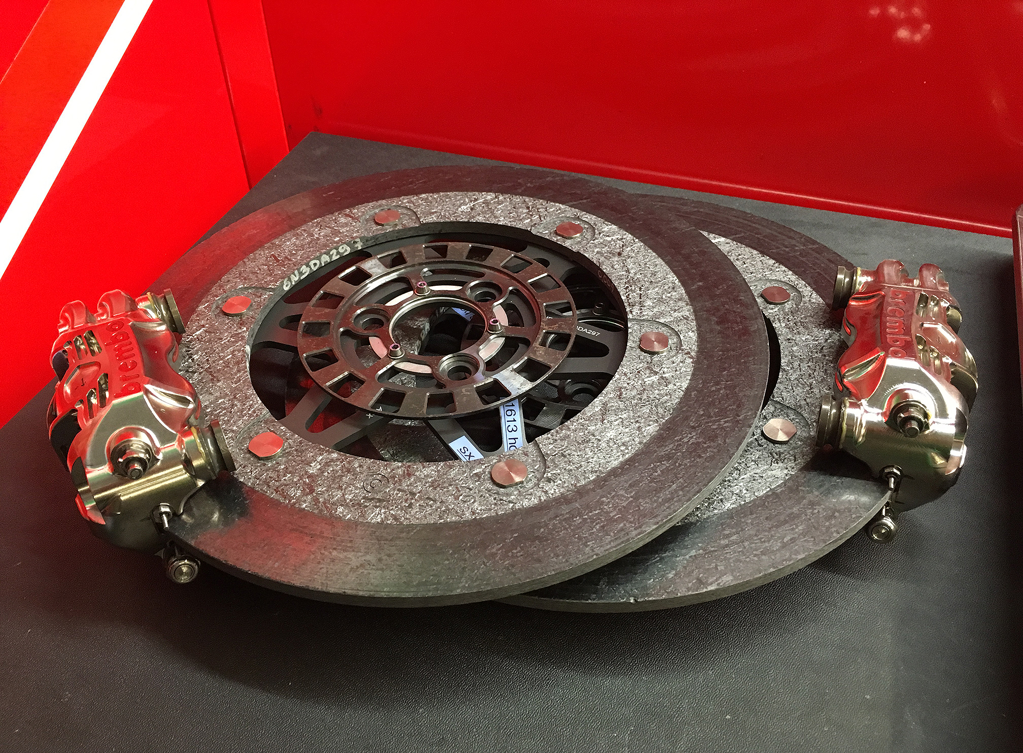 Brembo Motogp Brake Tech Motorcyclist