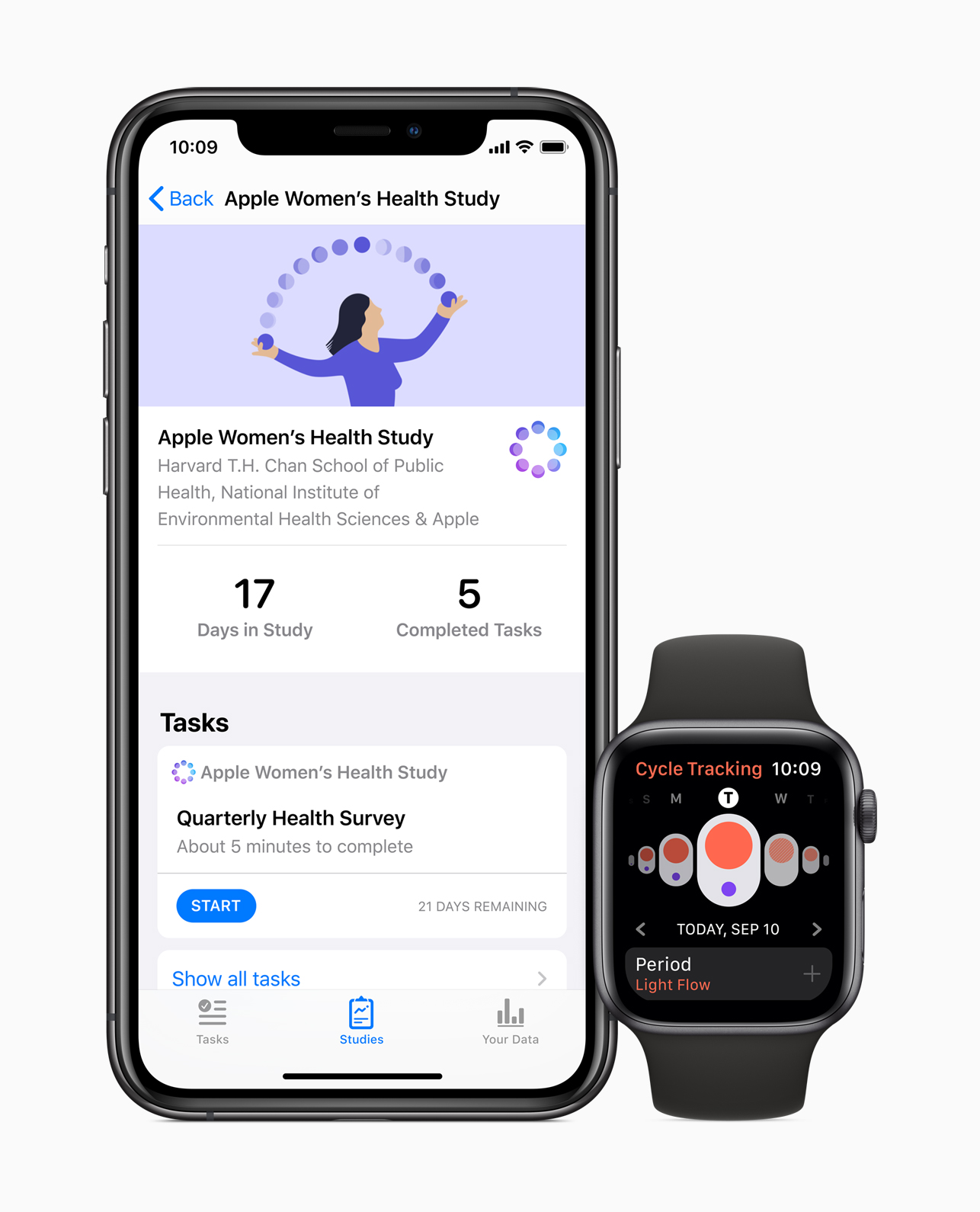 Apple Watches and iPhones want to track your period to make reproductive health better for all