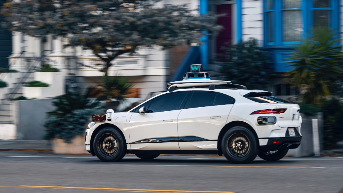 Waymo's new self-driving cars are electric Jaguars loaded with sensors and cameras