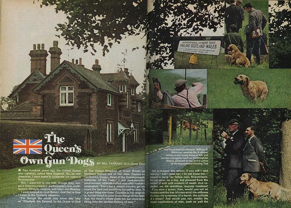 Queen Elizabeth II's Own Gun Dogs | Field & Stream