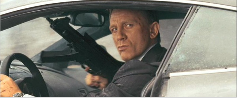 Best Bond Guns: Skyfall Marks 50 Years of James Bond Movie
