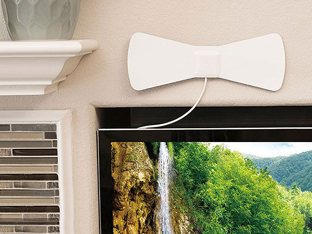 This paper-thin indoor antenna lets you enjoy free ultra HD TV