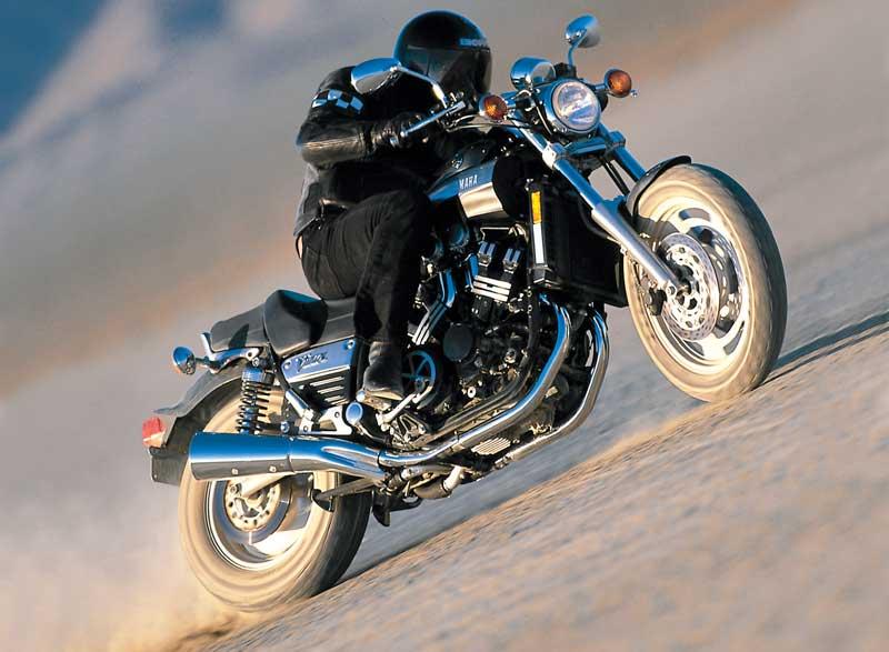 Motorcycle Road Test: Yamaha V-Max   Motorcycle Cruiser