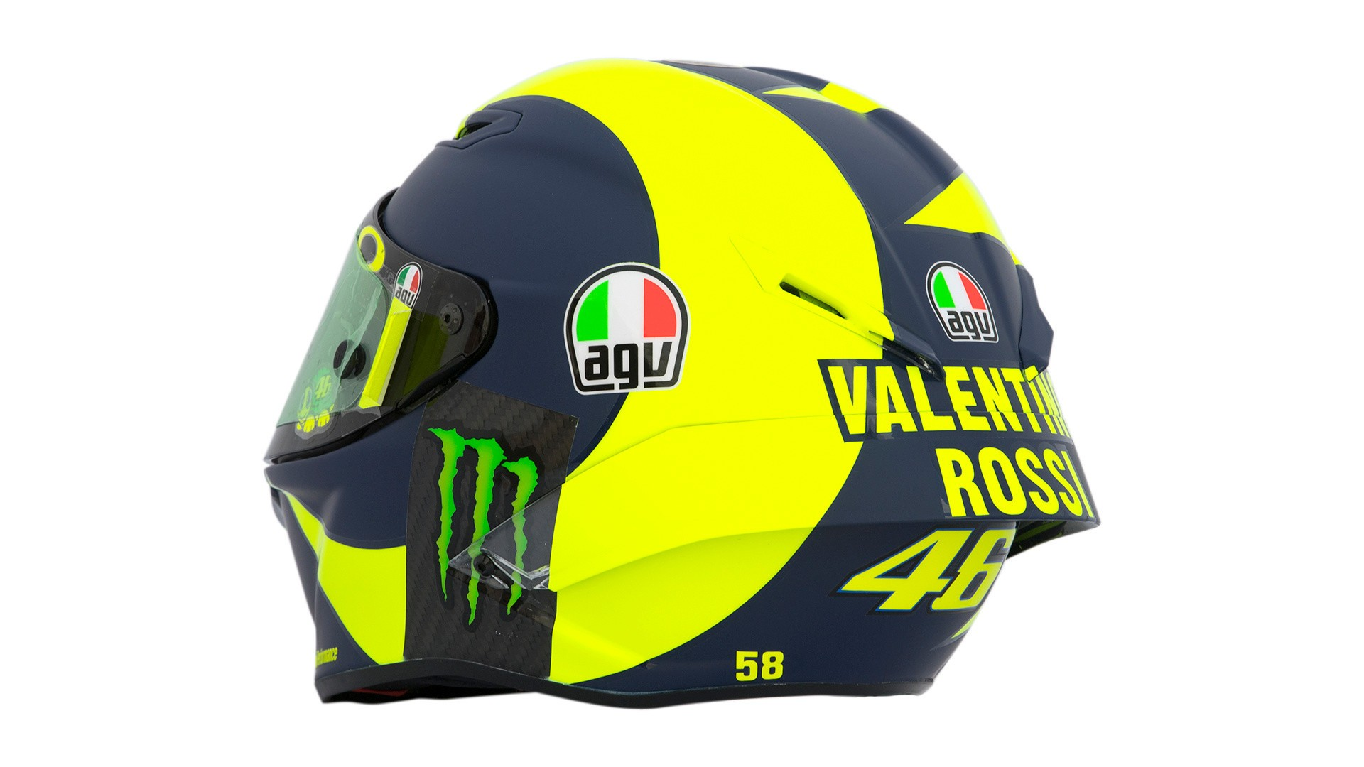 44fadf3d Valentino Rossi's 2018 AGV Pista GP R Helmet Unveiled In Qatar | Cycle World