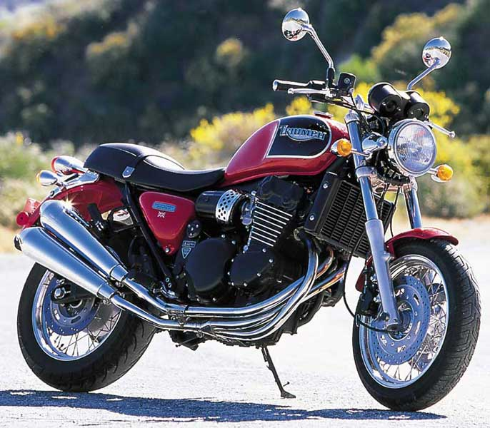 Motorcycle Road Test 1998 Triumph Thunderbird Sport Motorcycle