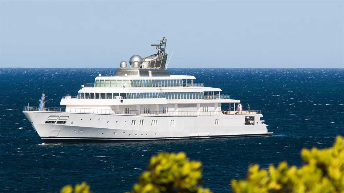 The World S Largest Yachts Yachting