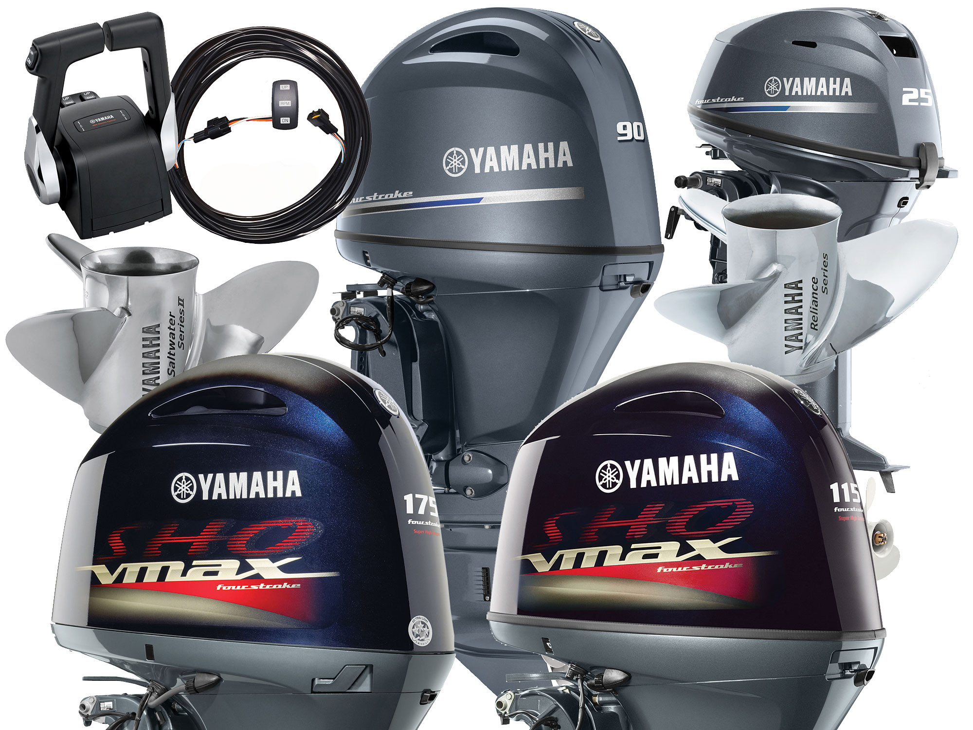 Yamaha Marine Introduces New Outboards, Props and Controls | Sport